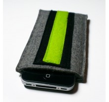 iPhone 4 Case - Noir and Neon Double