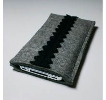 iPhone 4S Case - Noir ZigZag