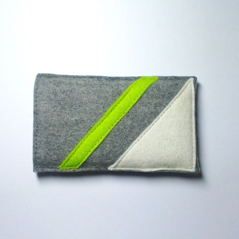 iPhone 4S Case - Frost and Neon Parallel