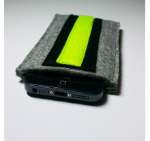 iPhone 5 Case - Noir and Neon Double