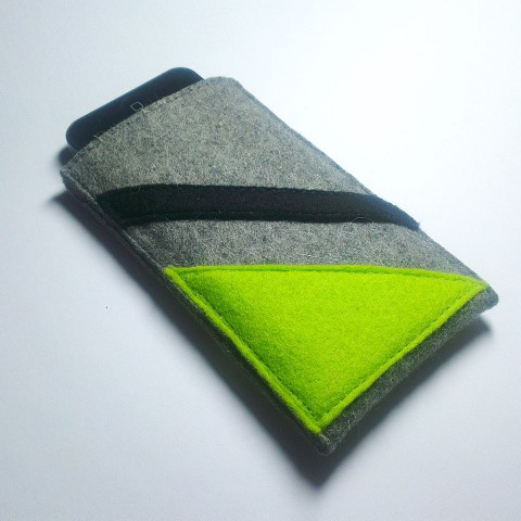 iPhone 5 Case - Neon and Noir Parallel