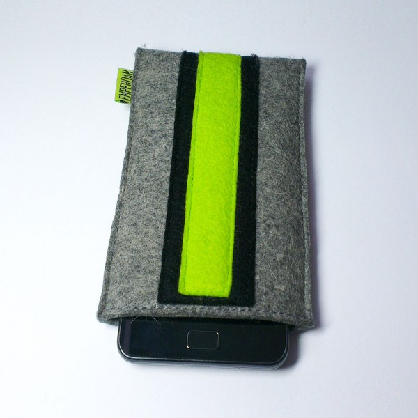 Samsung Galaxy S2 Case - Noir and Neon Double