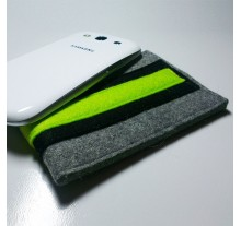 Samsung Galaxy S3 Case - Noir and Neon Double