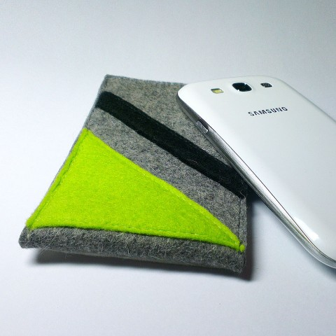 Samsung Galaxy S3 Case - Neon and Noir Parallel