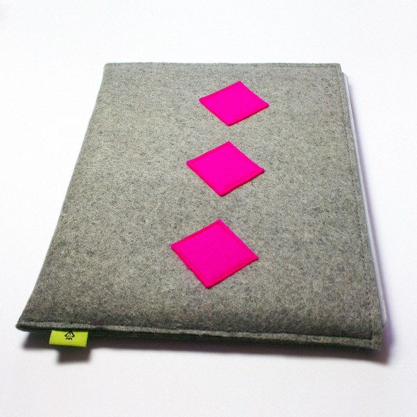 iPad 4 Case - Fuchsia Retro